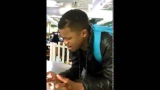 getlinkyoutube.com-I Want Complain -  Kelontae Gavin sings in School Cafeteria