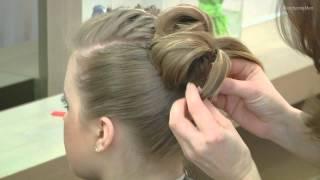 getlinkyoutube.com-Jak zrobić młodzieżową fryzurę z kokiem