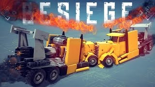 getlinkyoutube.com-Besiege Best Creations - Trick Shots, Slow-motion Crashes & Amazing Creations - Besiege Highlights