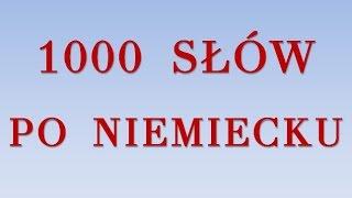 getlinkyoutube.com-1000 SŁÓW PO NIEMIECKU