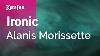 getlinkyoutube.com-Karaoke Ironic - Alanis Morissette *