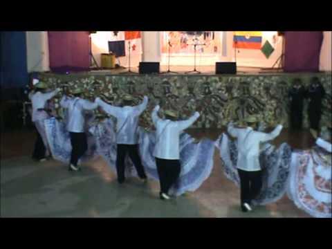 Agrupacion Panama Folklore en Peru Bailes de Lujo Pollera