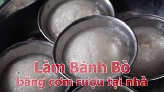 getlinkyoutube.com-Làm bánh bò bằng cơm rượu [Miền Tây TV]