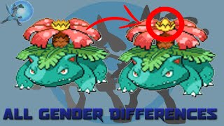 getlinkyoutube.com-All Gender Differences in Pokémon [Generation 1 to 6]