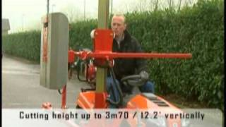 getlinkyoutube.com-Hedge Trimmer on lawn mower by Cochet