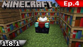 getlinkyoutube.com-Tackle⁴⁸²⁶ Minecraft (1.8.1) #4 - ลงมือ Enchant Item ระบบใหม่