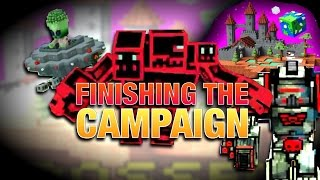 Pixel Gun 3D: FINISHING THE CAMPAIGN! (Crossed Worlds)