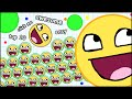 HOW TO GET TO TOP 10 IN 10 SECONDS! AGARIO AWESOME EDITION THE MOST ADDICTIVE GAME - AGARIO #11
