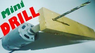getlinkyoutube.com-How to Make a Mini DRILL Machine (Home Made)     DIY DC(9-12V) Powerfull Mini DRILL Machine