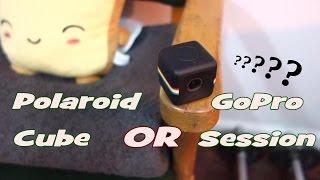 getlinkyoutube.com-GoPro Session VS Polaroid Cube Review