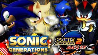 getlinkyoutube.com-Sonic Generations - Final Rush and Sonic Adventure 2 SA2 Mod!
