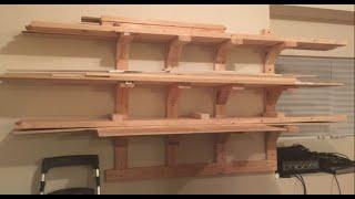 getlinkyoutube.com-DIY Lumber Rack (easy)