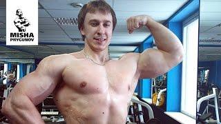 getlinkyoutube.com-Сильный, но жирный )) Миша Прыгунов. Пауэрлифтинг.