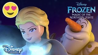 Frozen: Magic Of The Northern Lights | Part 1 | Official Disney Channel UK