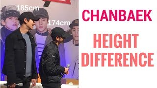 [CHANBAEK] Height Difference