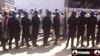 getlinkyoutube.com-Clashes in Harare as police break up #Tajamuka protest
