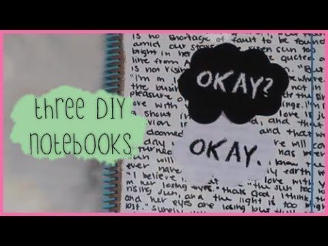3 DIY Notebook Ideas | Back to School 2013