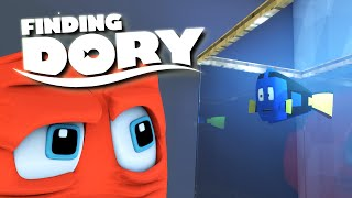 getlinkyoutube.com-Minecraft Parody - FINDING DORY! - (Minecraft Animation)