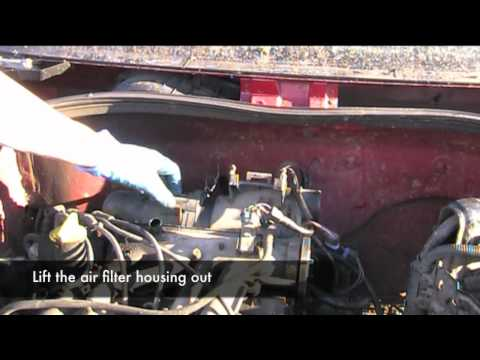 Renault Clio 1.2 8v Air filter removal