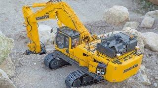getlinkyoutube.com-Excavator Hydraulic Komatsu PC800 RC 1:14 Funny Presentation :-) :-)