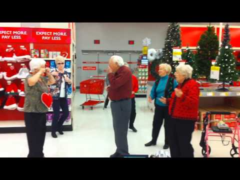Senior Citizen Flash Mob - Lawrence,KS - Meadowlark Estates