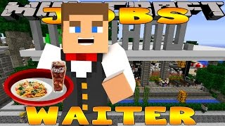 getlinkyoutube.com-Minecraft - Little Donny Adventures - WAITER JOB IN ITALIAN RESTAURANT w/ Donut The Dog