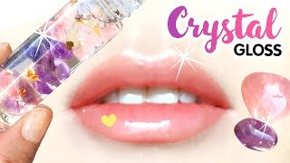 getlinkyoutube.com-ANTI-ANXIETY Crystal Lip Gloss DIY!! Magical Power of Crystals To Beat Stress!