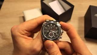 getlinkyoutube.com-Aliexpress zegarek Casio Edifice Recenzja Unboxing