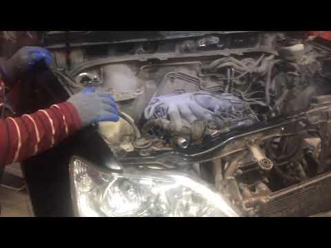 Lexus 300 снятие мотора с подрамником,воркута