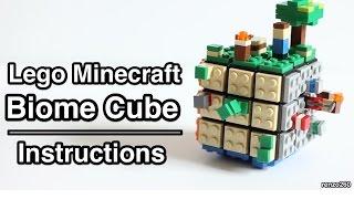 getlinkyoutube.com-Lego Minecraft Biome Cube | Instructions