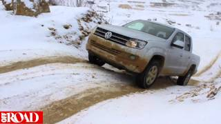 getlinkyoutube.com-OFF ROAD-Megatest: Ford Ranger, Isuzu D-Max, Nissan Navara, VW Amarok