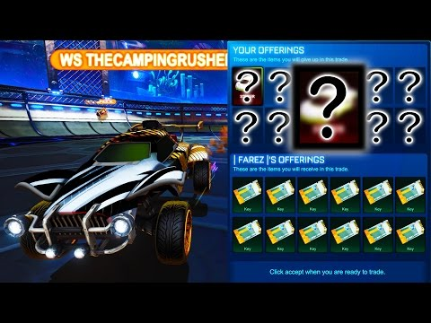 SELLING ONE OF THE RAREST ITEMS IN ROCKET LEAGUE!!