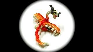 getlinkyoutube.com-How to Loom Your Dragon (Torch/Typhoomerang Baby, 1 Loom)