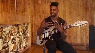 getlinkyoutube.com-Guitar Lesson: Tosin Abasi on tapping