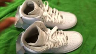 How to Clean white Nike air force 1!