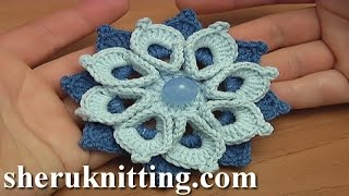 getlinkyoutube.com-Crochet Double Layers Flower Tutorial 108