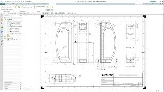 getlinkyoutube.com-SIEMENS NX 10 - DRAFTING