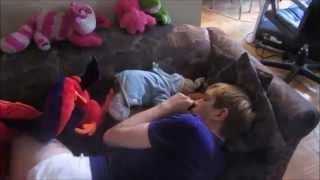 getlinkyoutube.com-Sleepy Adult Baby Diaper Boy!!