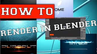 How To Turn Your Blender Files Into Videos [How To Render In Blender]