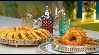 getlinkyoutube.com-Choumicha : Kaak / Kaak Manqouch |  شميشة : الكعك / الكعك المنقوش