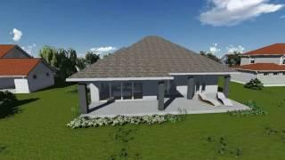 getlinkyoutube.com-MODEL C-09, Prizemna porodična kuća, P = 203.5 m2