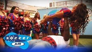 getlinkyoutube.com-How to bench press a cheerleader with Adebayo Akinfenwa