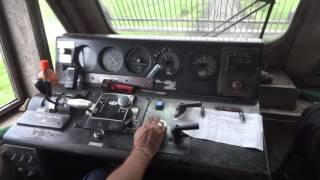getlinkyoutube.com-[IRFCA] Loco Ride in WDP4- AC Super-fast  Express