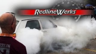 getlinkyoutube.com-Berlin Klassik: Burnout Competition: Volkswagen MK2 Golf