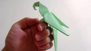 getlinkyoutube.com-Origami Macaw Parrot of Manuel Sirgo