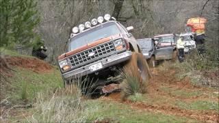 getlinkyoutube.com-CHEVROLET BLAZER K5 350 5.7 V8  **41'' Monster Offroading @ Mud**