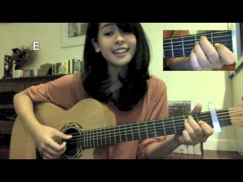 Tahu Diri Guitar Tutorial (by Maudy Ayunda)