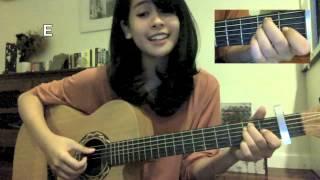getlinkyoutube.com-Tahu Diri Guitar Tutorial (by Maudy Ayunda)