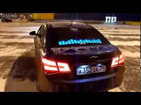 Эквалайзер на заднем стекле авто!!!шыкарная thing! Equalizer rear window of the car