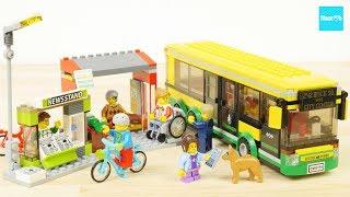 レゴ シティ バス停留所 60154 / LEGO CITY, Lego City  Bus Station 60154